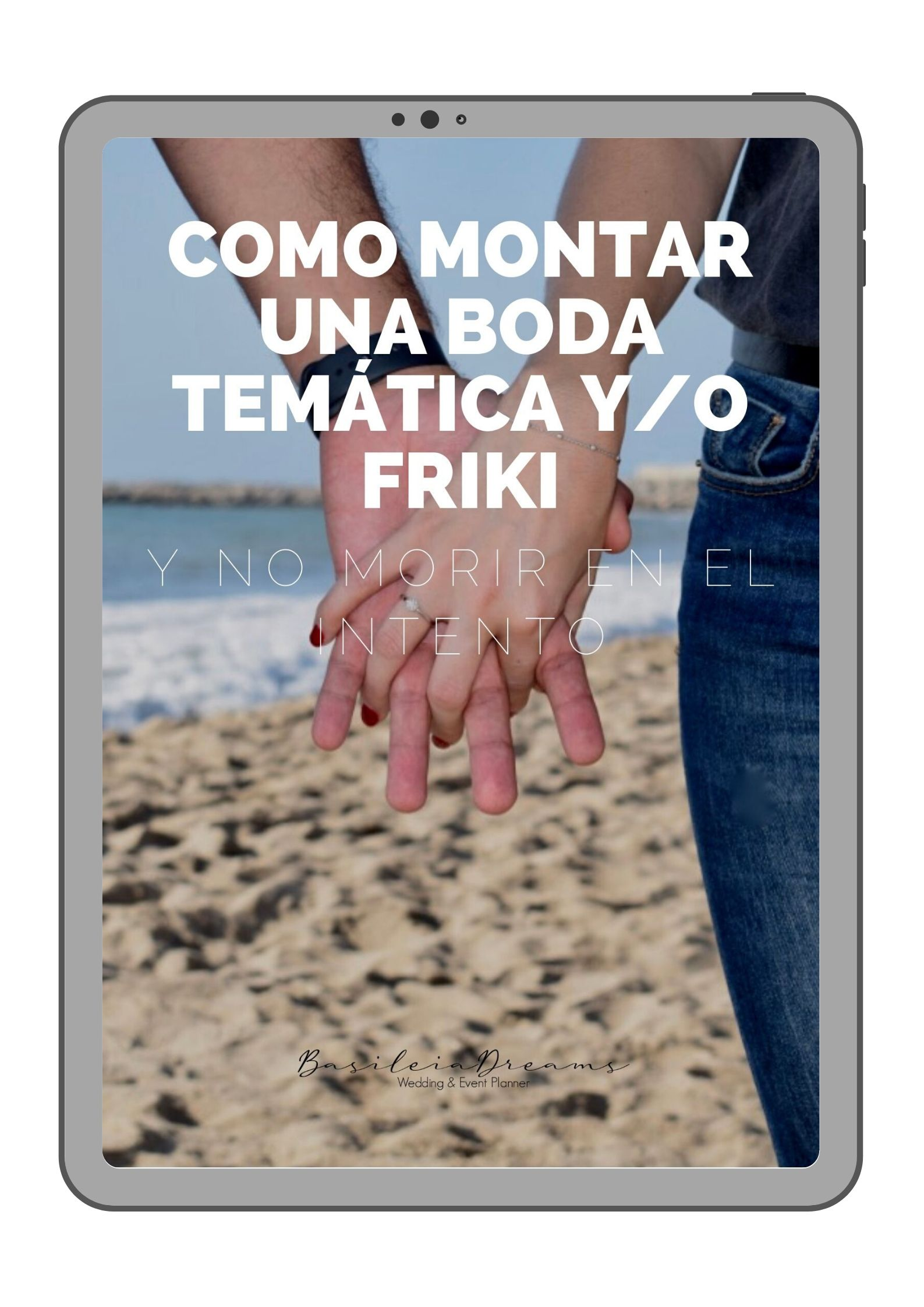 EBOOK GRATUITO PARA MONTAR UNA BODA TEMÁTICA Y/O FRIKI Y NO MORIR EN EL INTENTO
